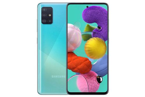 Samsung Galaxy A51 (7,99 triệu đồng xuống 7,79 triệu đồng).