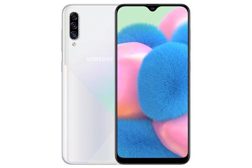 Samsung Galaxy A30s (6,29 triệu đồng xuống 5,59 triệu đồng).