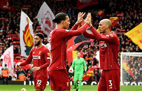 Liverpool chỉ cần thêm 2 trận thắng nữa để vô địch Ngoại hạng Anh.