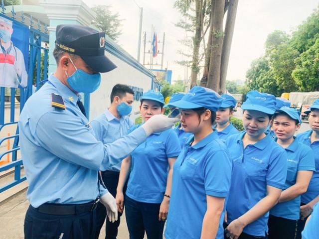 Việc bảo vệ sức khỏe của công nhân được Tập đoàn chú trọng coi như bảo vệ sản xuất.