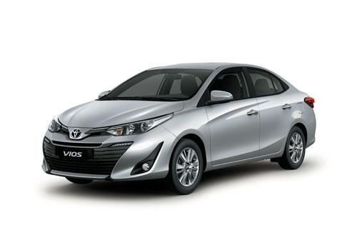 Toyota Vios (doanh số: 2.468 chiếc).