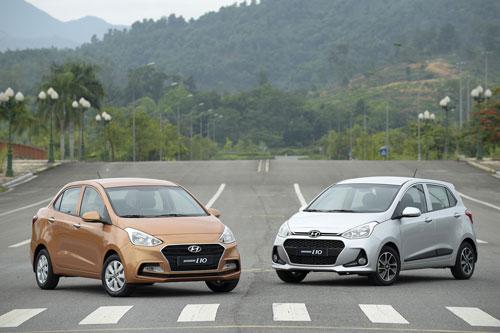 3. Hyundai Grand i10 (doanh số: 1.101 chiếc).