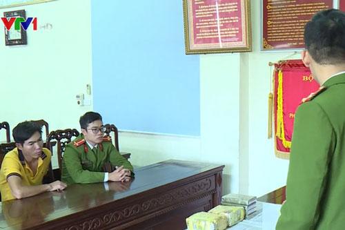 Bắt đối tượng buôn ma túy ở Đắk Nông.