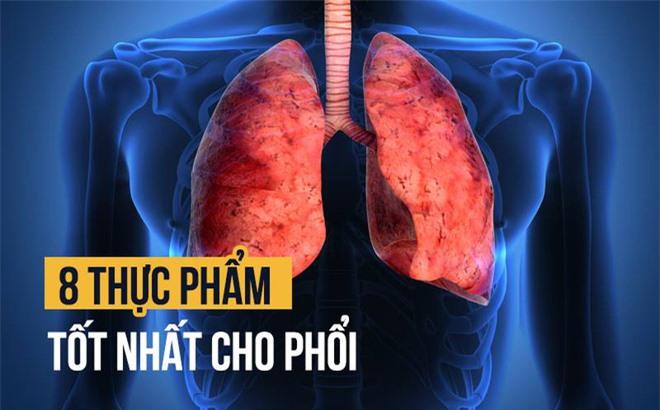 Bạn đừng quên bổ sung vào chế độ ăn của mình những thực phẩm sau để duy trì sức khỏe của phổi, ngừa covid-19