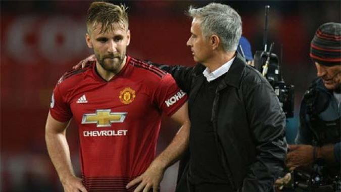 Hậu vệ Luke Shaw bị Mourinho chỉ trích công khai