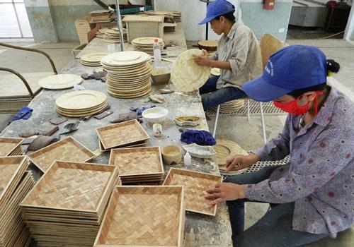 Thị phần xuất khẩu của ngành mây tre Việt Nam mới chỉ chiếm chưa đến 3% thị trường thế giới (Ảnh: Internet)