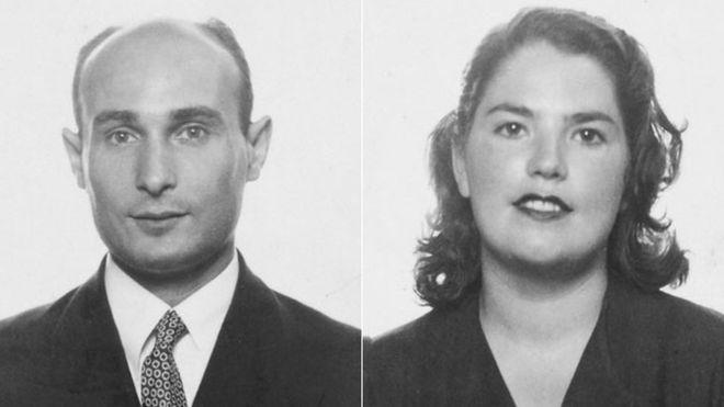 Điệp viên Garbo và vợ Araceli. Ảnh: /thoibao.today.