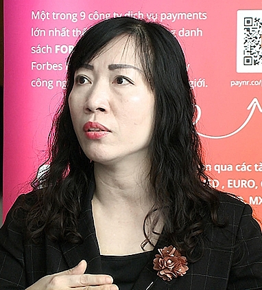 Bà Nguyễn Thị Minh Thúy- Giám đốc Trung tâm Ứng dụng công nghệ thông tin xúc tiến thương mại - (Cục Xúc tiến thương mại - XTTM) - Bộ Công Thương.