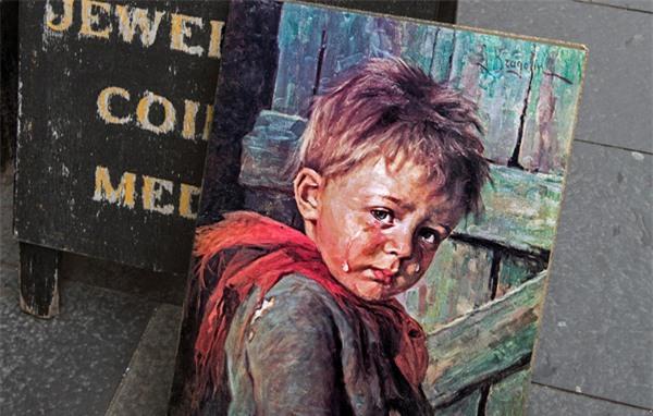 """Giải mã lời nguyền chết chóc bí ẩn xung quanh bức tranh nổi tiếng """"Cậu bé khóc"""" - 4"""