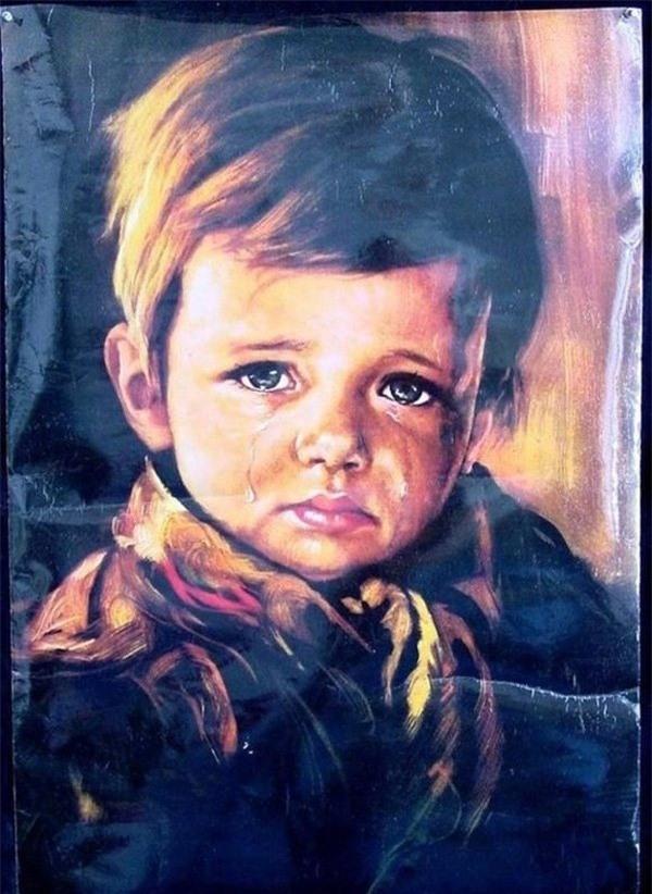 """Giải mã lời nguyền chết chóc bí ẩn xung quanh bức tranh nổi tiếng """"Cậu bé khóc"""" - 6"""