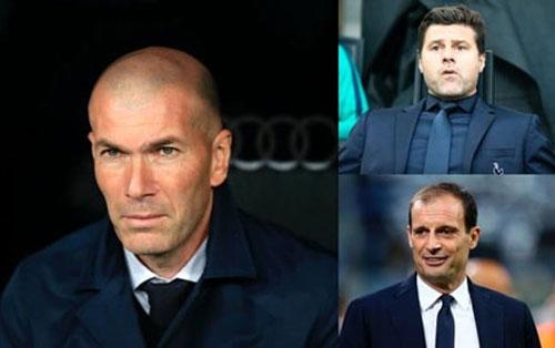 Real Madrid đang xem xét nghiêm túc khả năng thay thế HLV Zinedine Zidane bằng 2 ứng viên tiềm năng là Mauricio Pochettino và Massimiliano Allegri.
