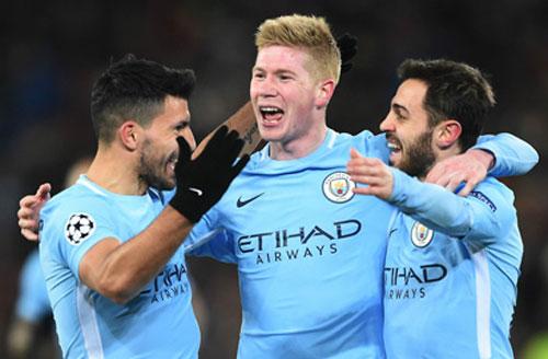 Man City là ứng cử viên số 1 cho chức vô địch Champions League.