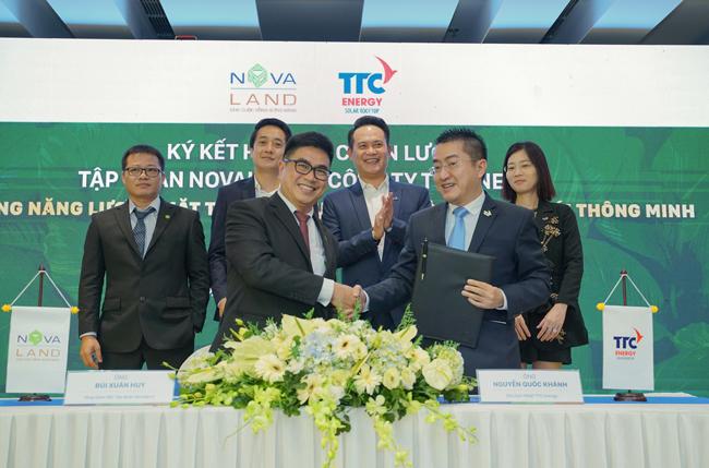 Cú bắt tay chiến lược giữa Novaland và TTC Energy
