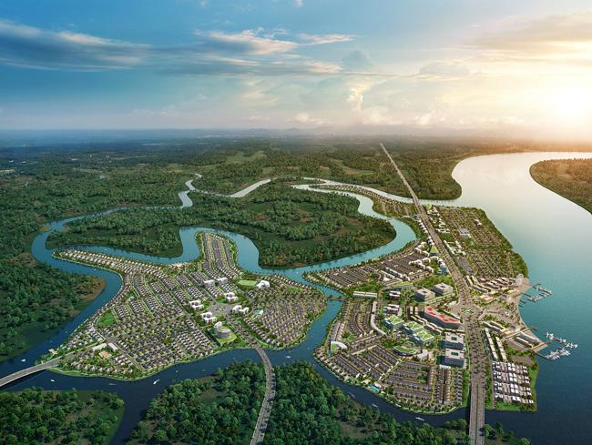 Dự án Aqua City (TP Biên Hòa, Đồng Nai) của chủ đầu tư Novaland