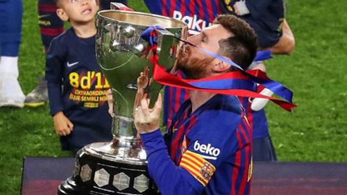 Messi và đồng đội lên ngôi vô địch La Liga mùa này nếu giải đấu kết thúc ngay vòng 27