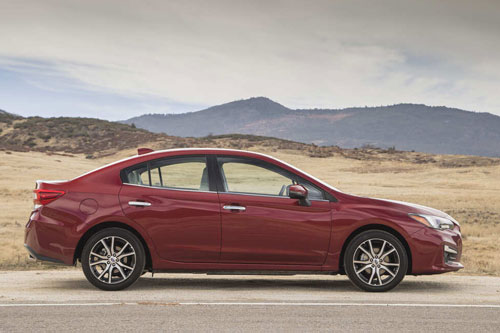 5. Subaru Impreza 2020 (giá khởi điểm: 18.695 USD).