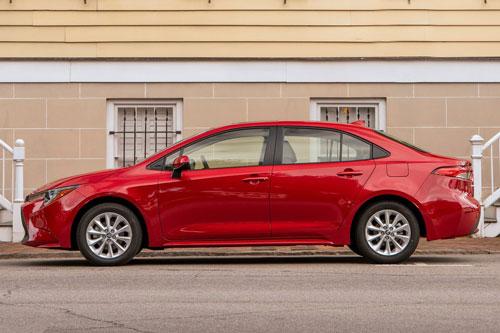 7. Toyota Corolla 2020 (giá khởi điểm: 19.600 USD).