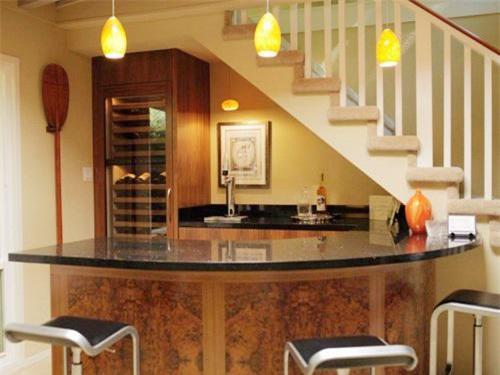 Đừng bỏ trống gầm cầu thang vì biết cách tận dụng, nhà chật đến mấy cũng sẽ rộng gấp đôi - 10