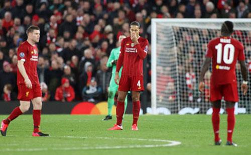 Liverpool trở thành cựu vương Champions League sau khi thua Atletico.