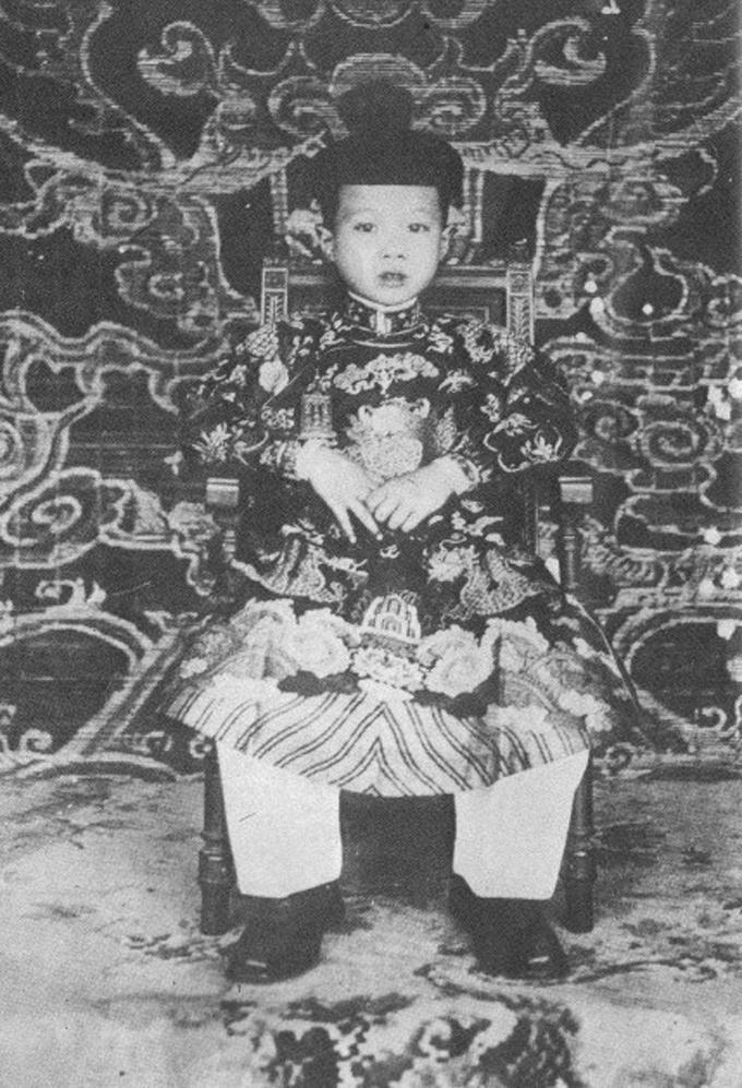 Hoàng tử Vĩnh Thụy thời thơ ấu.