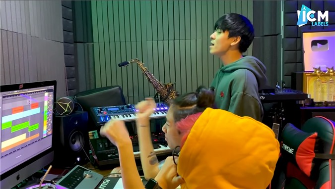 K-ICM cùng mẹ nuôi kết thúc du học sớm, hứa hẹn sẽ ra sản phẩm âm nhạc liên tục - Ảnh 4.