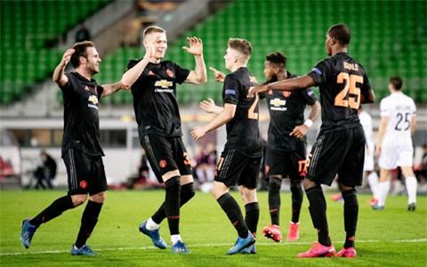 Chiến thắng ấn tượng trước LASK Linz nâng số trận bất bại liên tiếp của Man United lên con số 11