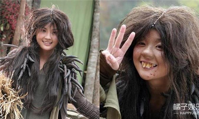 Tạo hình 'cái bang' của các sao nữ Hoa ngữ: Angelababy vẫn đẹp ngút ngàn, Thái Trác Nghiên khiến khán giả ám ảnh - Ảnh 8