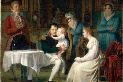 Napoleon có một con trai với người vợ thứ hai Marie Louise.