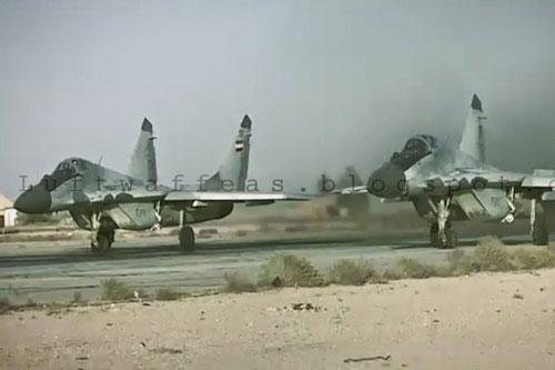 Vừa qua truyền thông khu vực Trung Đông đã ghi nhận việc tiêm kích chiếm ưu thế trên không MiG-29 của Không quân Syria (SyAAF) hiện diện tại khu vực chiến sự Idlib