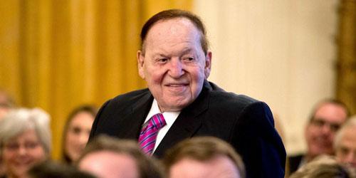 Tỷ phú sòng bạc Sheldon Adelson. Ảnh: AP.