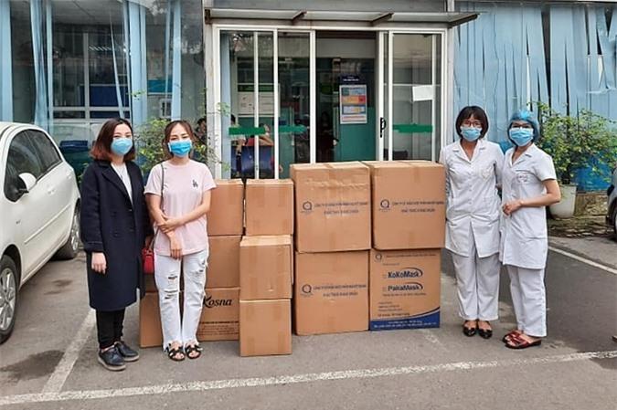 Những đóng góp của ca sĩ Min được chuyển đến bệnh viện.