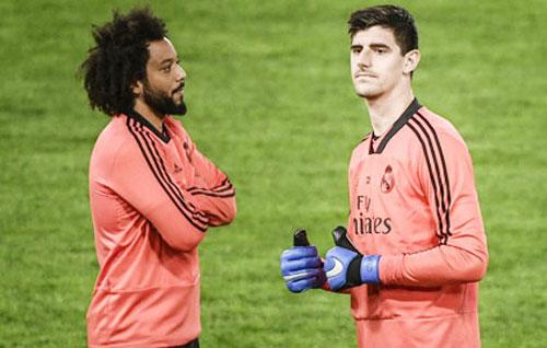 Marcelo và Courtois.