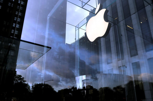 Giá cổ phiếu Apple giảm gần 10% giá trị.