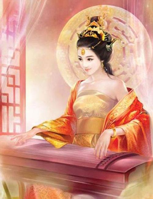 Vẻ đẹp nghiêng nước nghiêng thành của nàng khiến vua Đường Minh Hoàng mê đắm