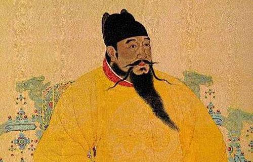 Chân dung Hoàng đế Chu Đệ.