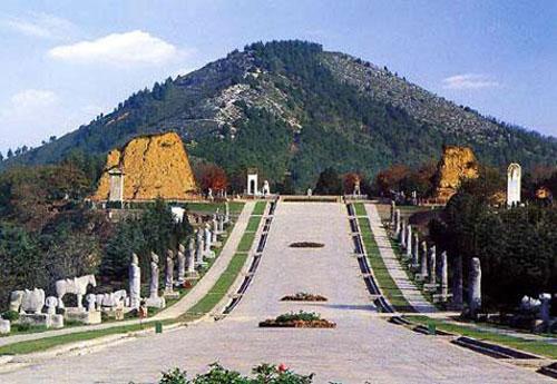 Đường vào ngôi mộ của Võ Tắc Thiên