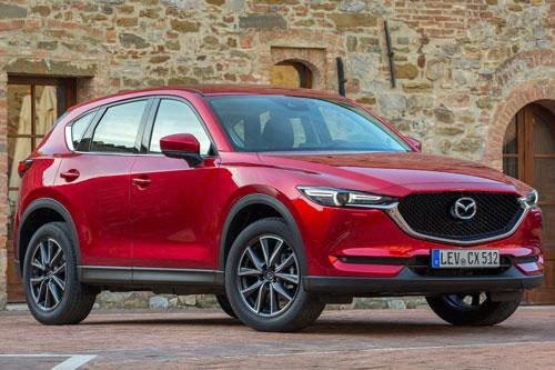 5. Mazda CX-5 (doanh số: 14.462 chiếc).
