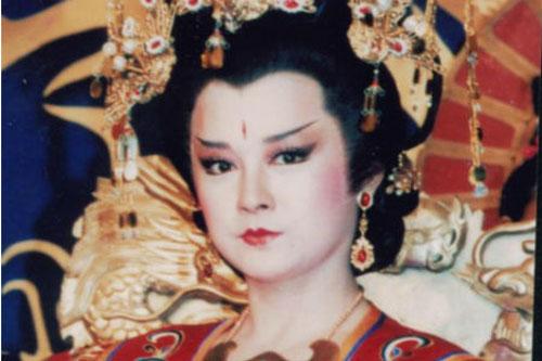 Hình ảnh Võ Tắc Thiên trong phim