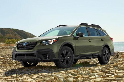 6. Subaru Outback (doanh số: 12.665 chiếc).