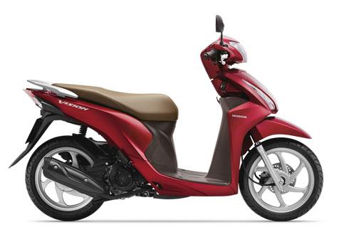 Honda Vision 110cc.