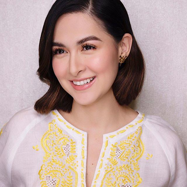 """Tuy nhiên, đầu tháng 9 vừa qua, bà mẹ hai con xinh đẹp nhất Philippines đã có màn """"lột xác"""" với kiểu tóc ngắn khiến người hâm mộ không khỏi bất ngờ."""
