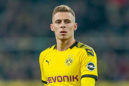 =10. Thorgan Hazard (Dortmund, 10 lần).