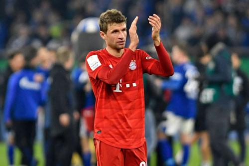 =1. Thomas Muller (Bayern Munich, 16 lần).