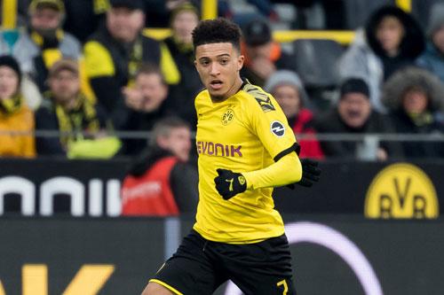 3. Jadon Sancho (Dortmund, 15 lần).