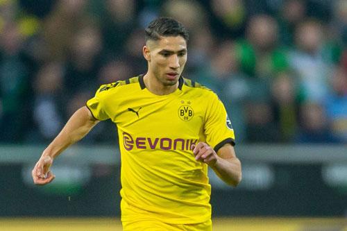 =10. Achraf Hakimi (Dortmund, 10 lần).