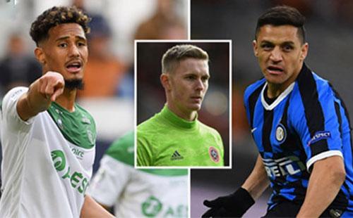 Dean Henderson (giữa), Alexis Sanchez (phải) vẫn có cơ hội thi đấu cho M.U mùa này.