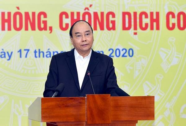 Thủ tướng Nguyễn Xuân Phúc Việt Nam để năng lực, nguồn lực, ý chí và kinh nghiệm để kiểm soát dịch bệnh.