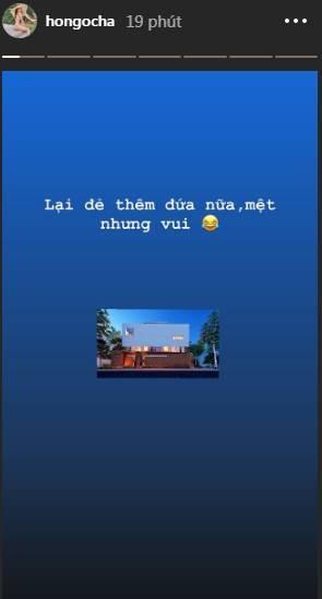 Bức hình được Hà Hồ chia sẻ trên instagram cá nhân.: