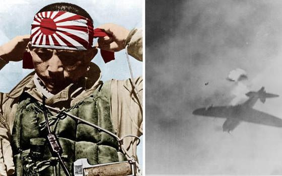 Phi công cảm tử Thần Phong của Nhật Bản trong Thế chiến 2. Ảnh: Getty.