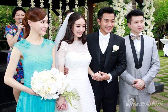 Hồi còn thân thiết, Đường Yên từng là phù dâu trong hôn lễ của Dương Mịch